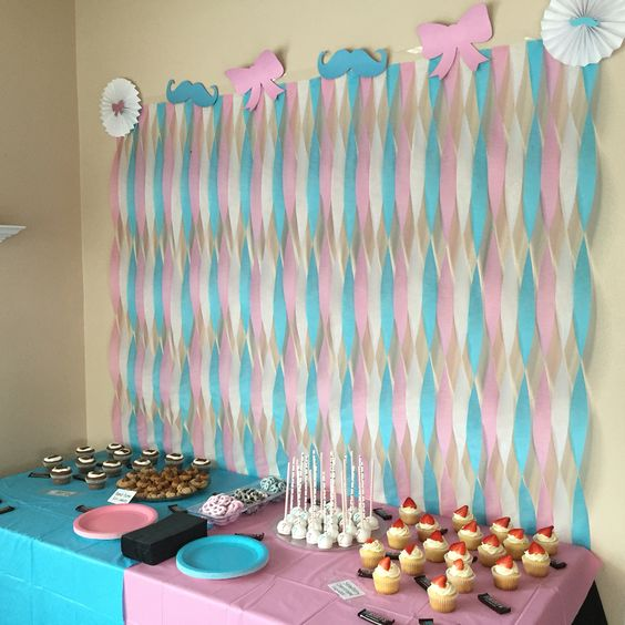 diy gender reveal party ideas laughtard