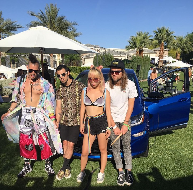 Pictures Of Celebrities At Coachella This Past Weekend
