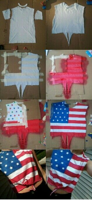 Easy DIY 4th Of July Shirts 1361813455