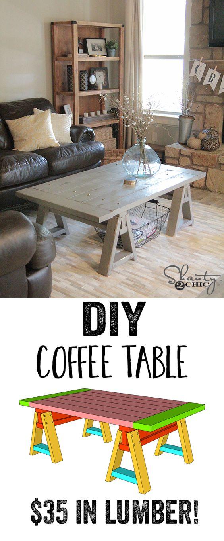 10 DIY Coffee Table Ideas