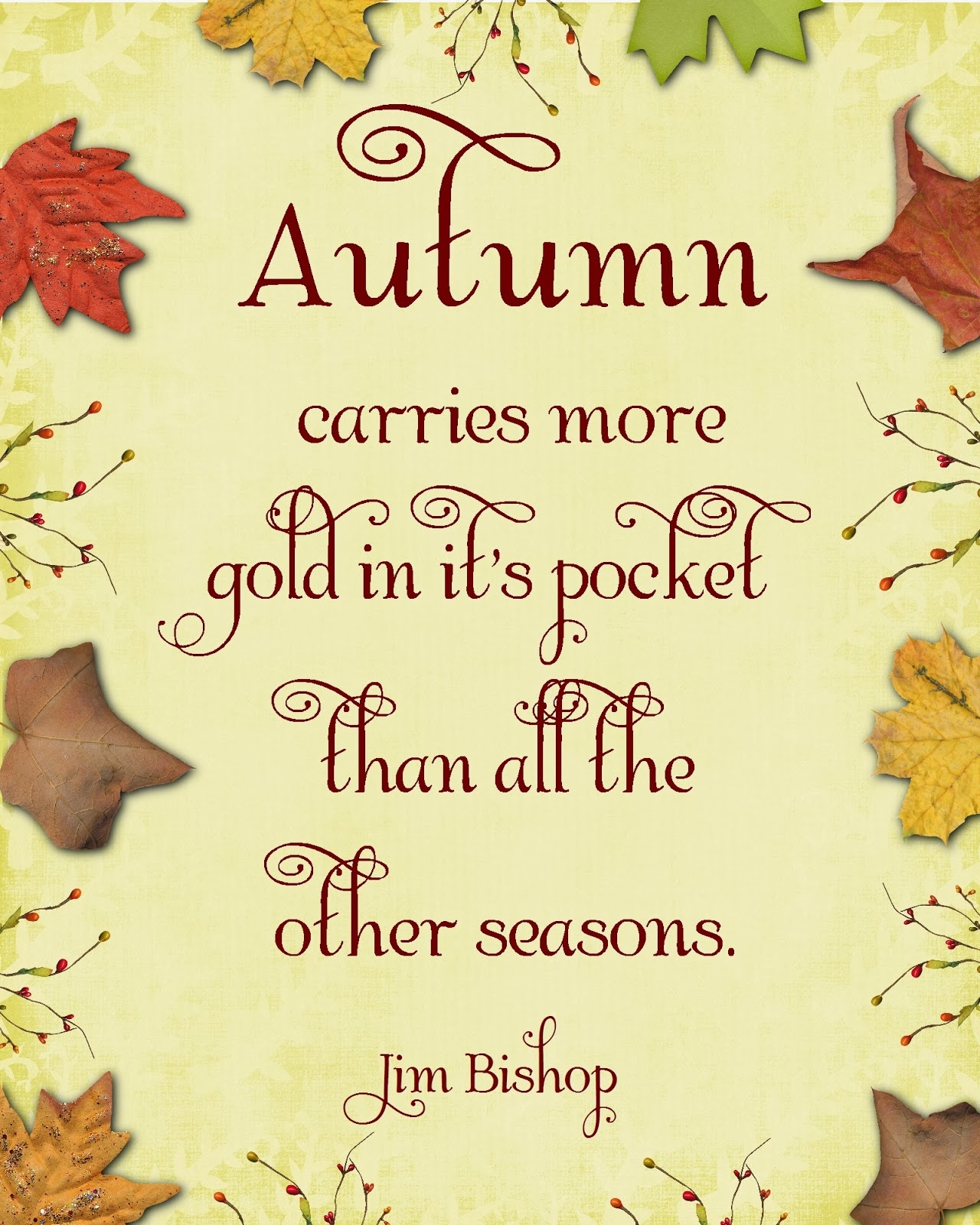 15 Fall Quotes