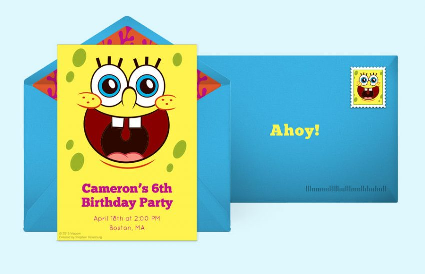 How To Throw An Epic Spongebob Birthday Party