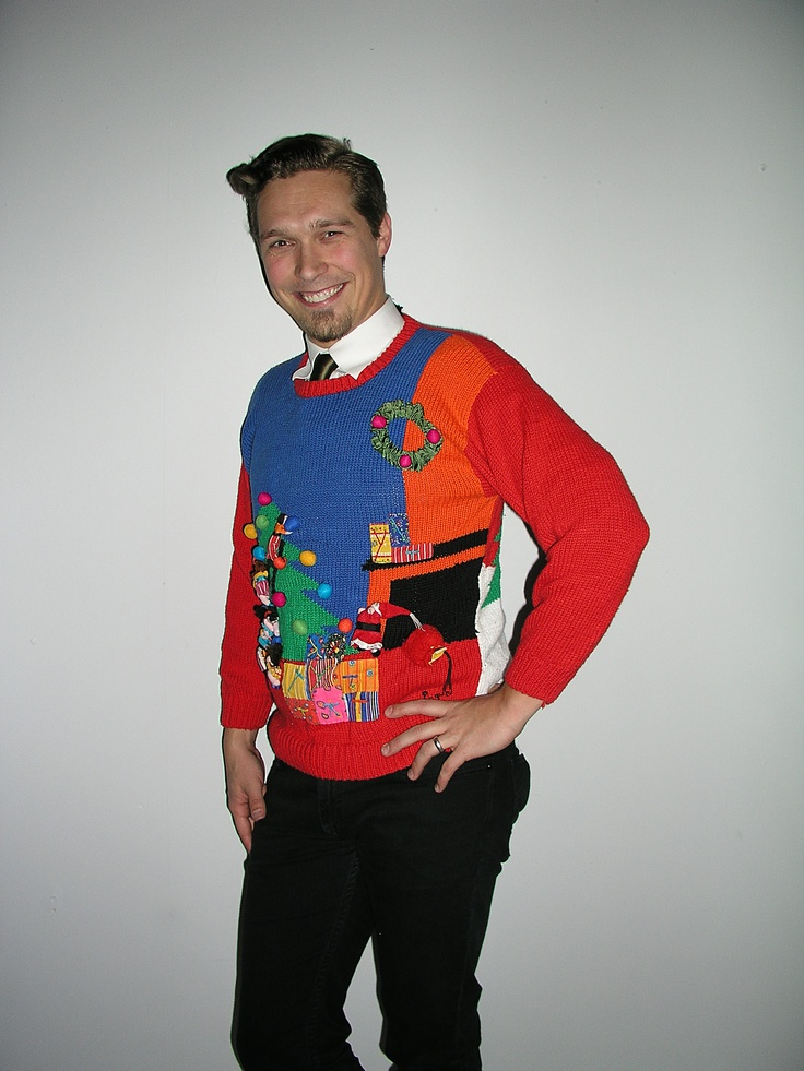 Celebrities In Ugly Christmas Sweaters 1764509470