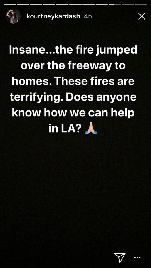 Celebrities React To Terrifying Los Angeles Wildfires