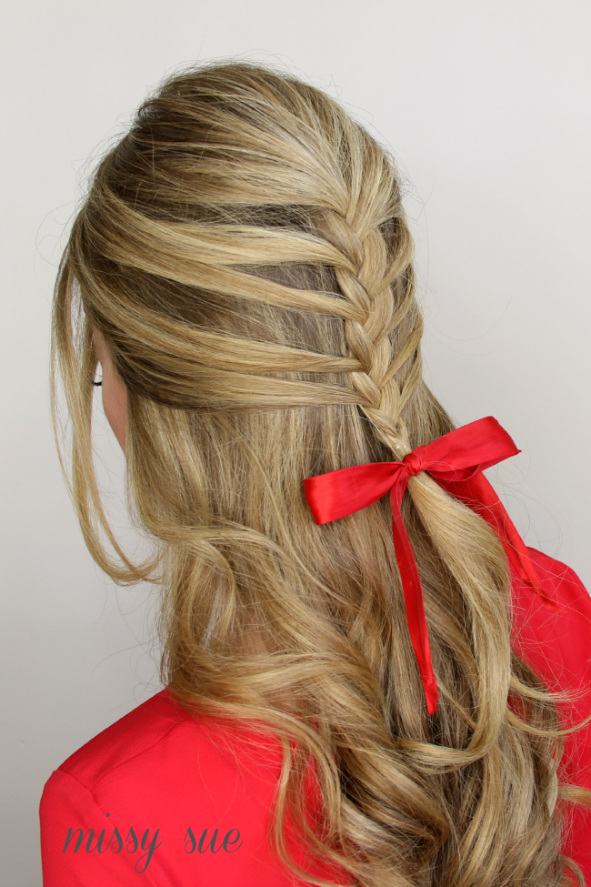 10 Of The Most Creative Christmas Hairstyles