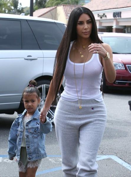 Kim Kardashian Slammed Over Topless Photo Taken By North
