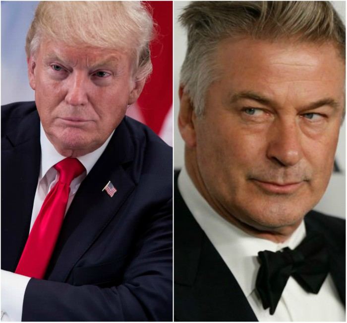 Trump & Alec Baldwin Throw Shade At Each Other On Twitter