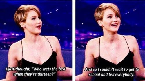 24 Times Jennifer Lawrence Made Us LOL