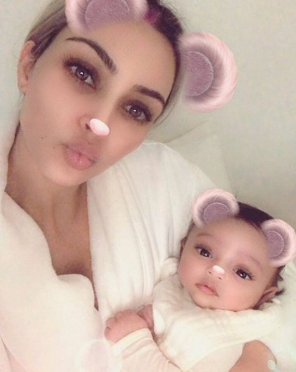 Kim Kardashian Shares The Sweetest Photo Of Her Two Youngest Kids