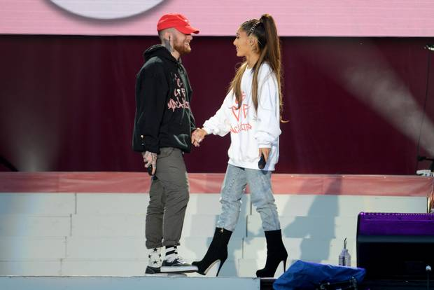 Ariana Grande Acknowledges Her & Mac Miller's Breakup