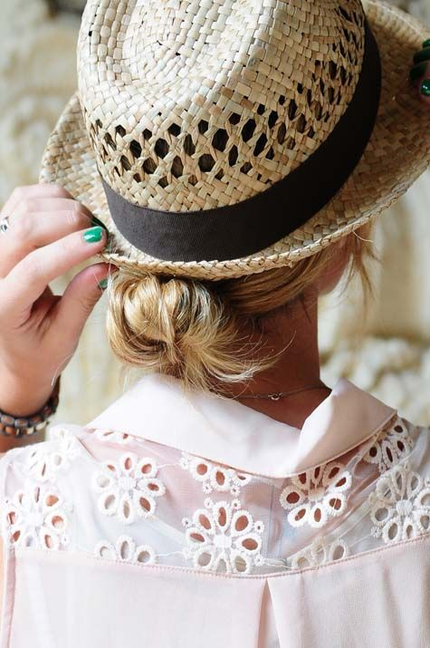 Fashionable Ways To Wear A Straw Hat This Summer