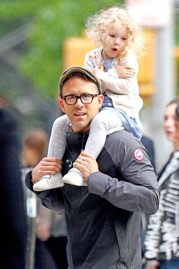 Ryan Reynolds Says His Daughter Developed