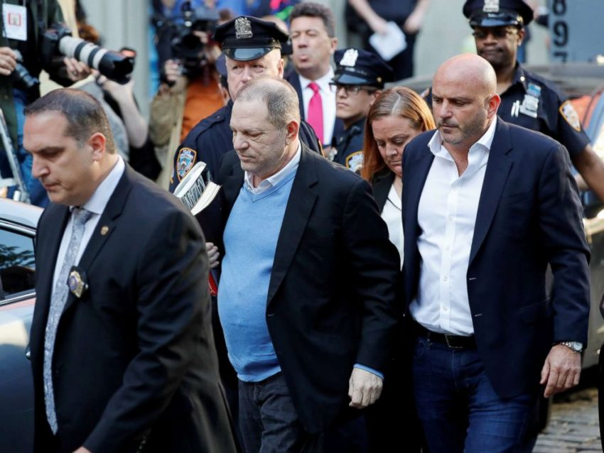 Harvey Weinstein Released On $1M Bail After Sexual Abuse Charges