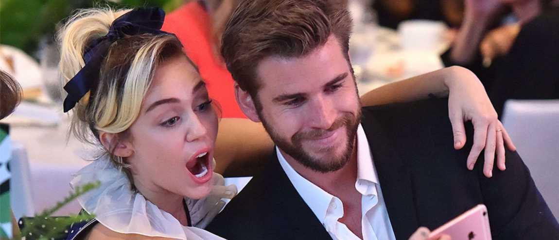 Liam Hemsworth Posts Hilarious Video Scaring Miley Cyrus 266577372