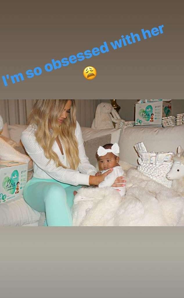 Khloe Kardashian Responds to Troll Saying Baby True Is