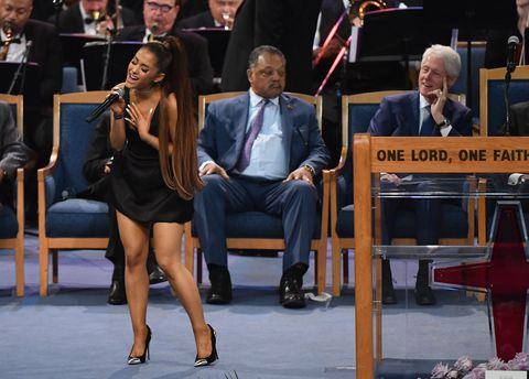 Ariana Grande Performs 'A Natural Woman' At Aretha Franklins Funeral: WATCH VIDEO