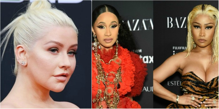 Christina Aguilera Talks About The Nicki Minaj & Cardi B Feud