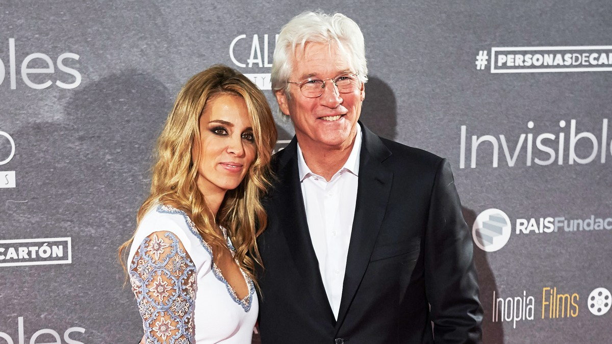 Richard Gere And His Wife Are Expecting Their First Child Together