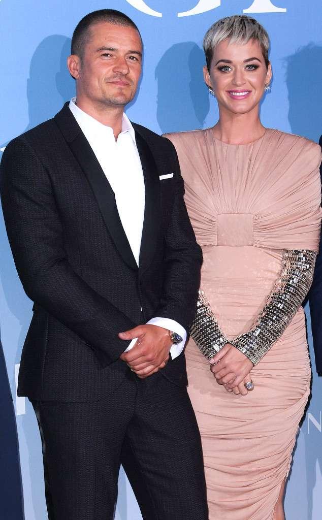 Katy Perry & Orlando Bloom Make Red Carpet Debut -- Finally!